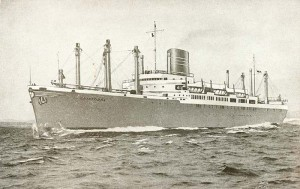 SS Cristobal (courtesy of Björn Larsson)