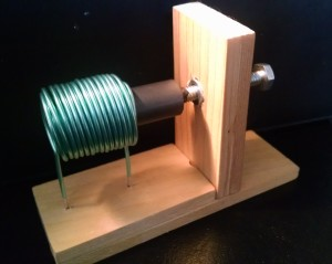 A home made variable inductor