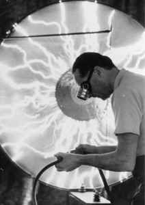 Kenneth Strickfaden created special effects for classic Hollywood films using Inductive Discharge